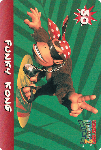 #30 FUNKY KONG - Card Front.