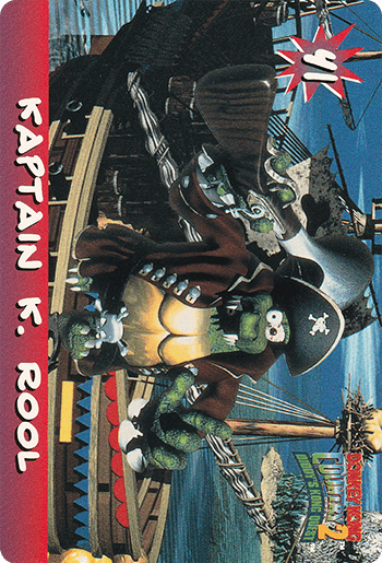 #41 KAPTAIN K. ROOL - Card Front.