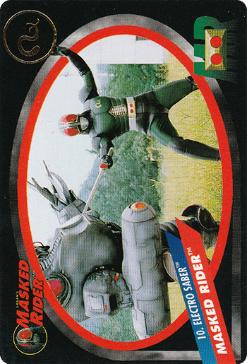 #10 MASKED RIDER™ - Card Front.