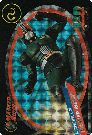 #8 MASKED RIDER™ - Card Front.