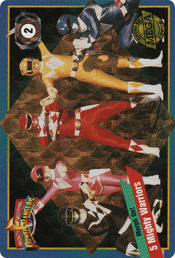 #2 5 Mighty Warriors - Card Front.