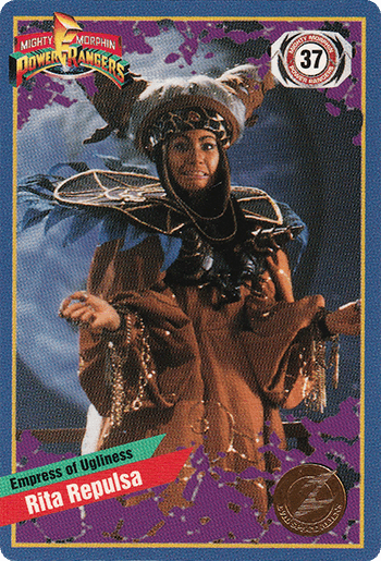 #37 Rita Repulsa - Card Front.