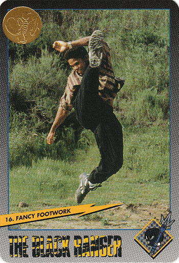 #16 Fancy Footwork - Card Front.