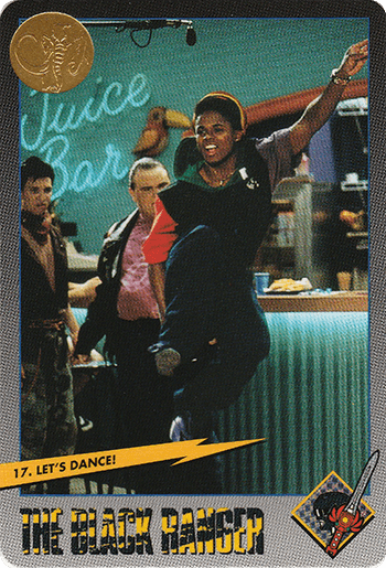 #17 Let's Dance! - Card Front.