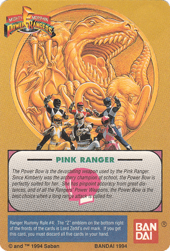 #28 Power Bow - Card Back.