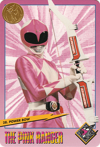 #28 Power Bow - Card Front.