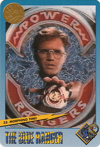 #33 Morphing Time! - Card Front.