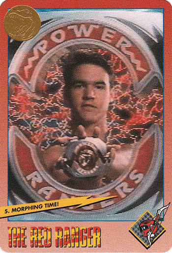 #5 Morphing Time! - Card Front.