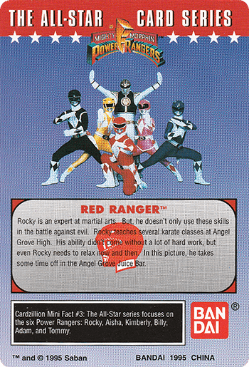#3 Karate Expert - Card Back.
