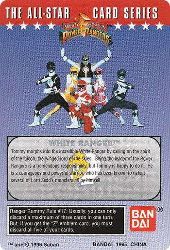 #41 It's Morphin Time! - Card Back.