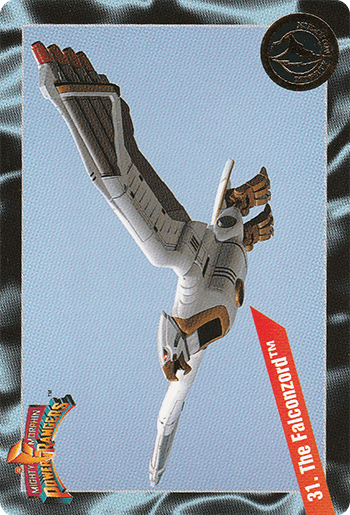 #31 The Falconzord™ - Card Front.