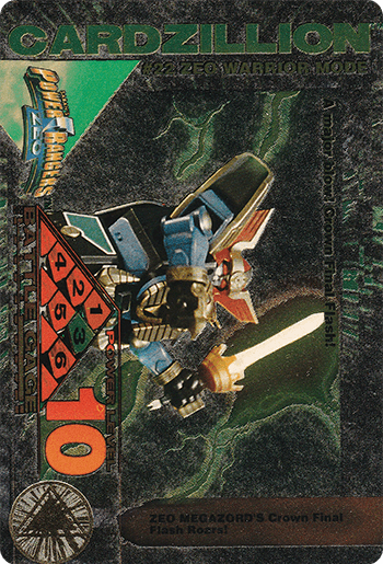 #22 ZEO WARRIOR MODE - Card Front.