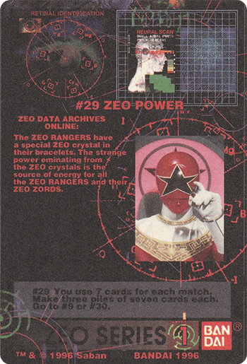 #29 ZEO POWER - Card Back.