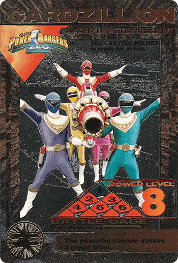 #35 ZEO I BATTLE HELMET - Card Front.