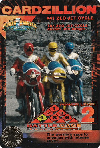 #41 ZEO JET CYCLE - Card Front.