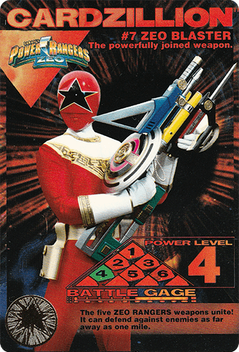 #7 ZEO BLASTER - Card Front.