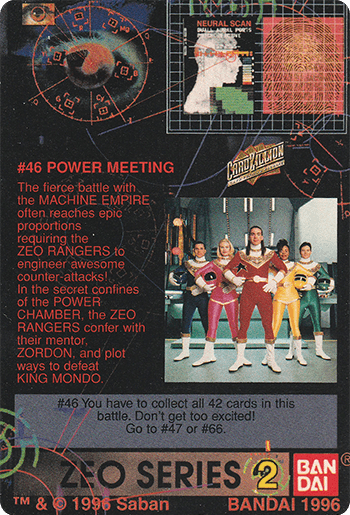 #46 POWER MEETING - Card Back.