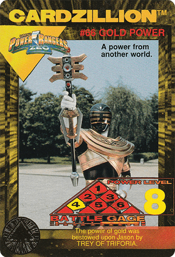 #66 GOLD POWER - Card Front.