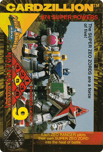 #74 SUPER POWERS - Card Front.