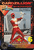A card from Power Rangers Zeo Series 2.