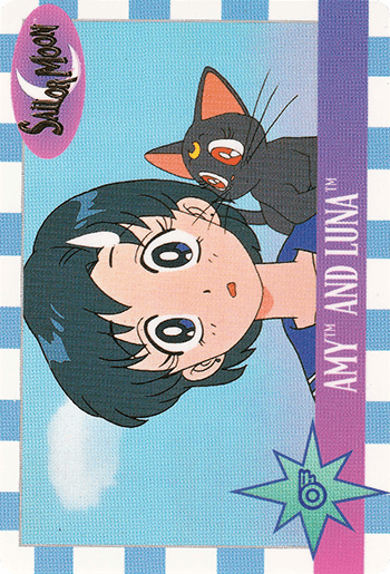 #16 AMY™ AND LUNA™ - Card Front.