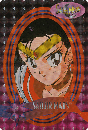 #3 SAILOR MARS™ - Card Front.