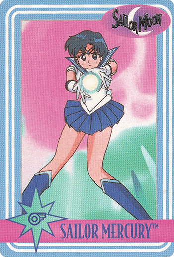 #30 SAILOR MERCURY™ - Card Front.