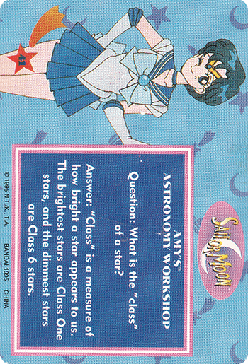 #41 SAILOR MOON™ - Card Back.