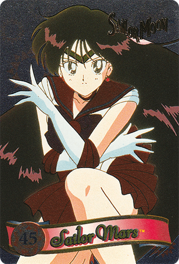 #45 Sailor Mars™ - Card Front.
