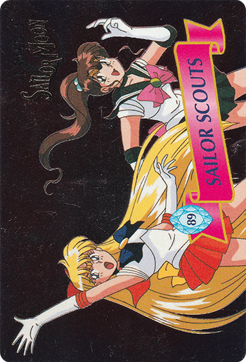 #89 SAILOR SCOUTS - Card Front.
