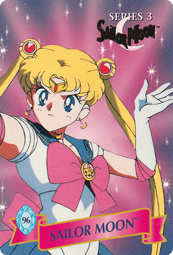 #96 SAILOR MOON™ - Card Front.