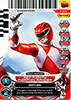 P-072 - Red Mighty Morphin Ranger