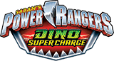 Power Rangers Dino Super Charge logo.