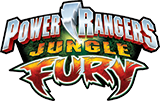 Power Rangers Jungle Fury logo.