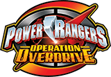Power Rangers Operation Overdrive logo.