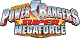 Power Rangers Super Megaforce logo.