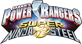 Power Rangers Super Ninja Steel logo.