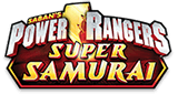 Power Rangers Super Samurai logo.