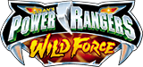 Power Rangers Wild Force logo.