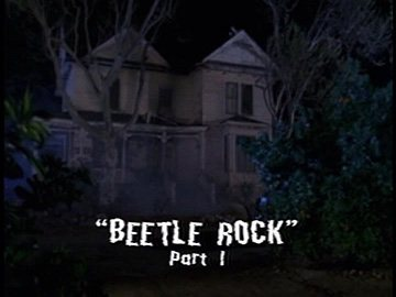 "Title Card for ""Beetle Rock, Part 1""."