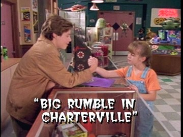 "Title Card for ""Big Rumble in Charterville""."