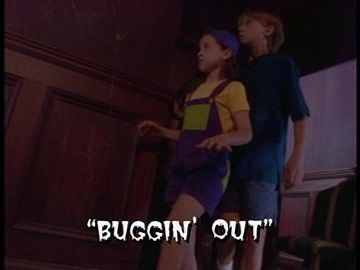 "Title Card for ""Buggin' Out""."