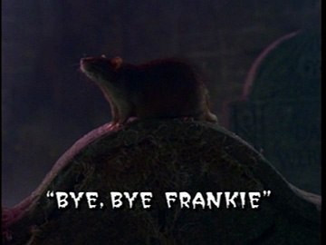 "Title Card for ""Bye, Bye Frankie""."