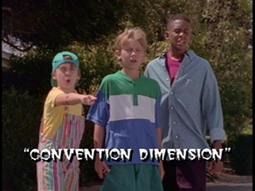 "Title Card for ""Convention Dimension""."