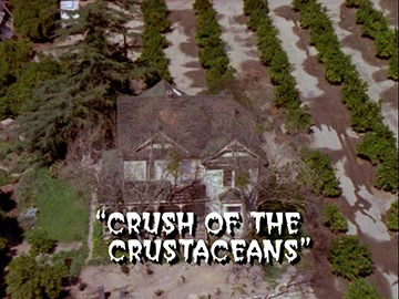 "Title Card for ""Crush of the Crustaceans""."