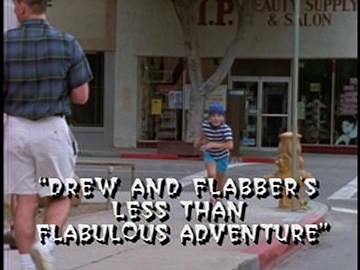 "Title Card for ""Drew and Flabber's Less than Flabulous Adventure""."