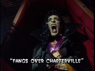 "Title Card for ""Fangs Over Charterville""."