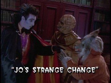 "Title Card for ""Jo's Strange Change""."