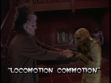 "Title Card for ""Locomotion Commotion""."