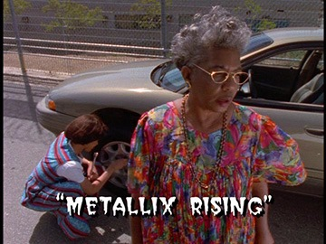 "Title Card for ""Metallix Rising""."